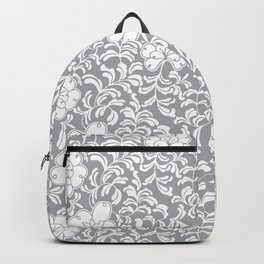 Japanese garden in grey Backpack
