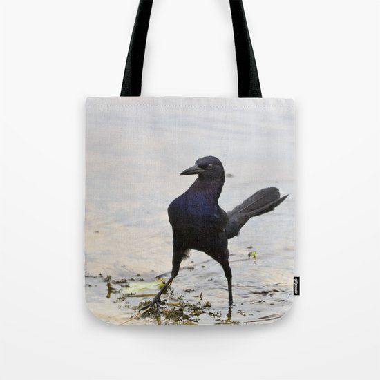 Cool Crow Tote Bag