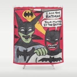 Beware the Batmen Shower Curtain