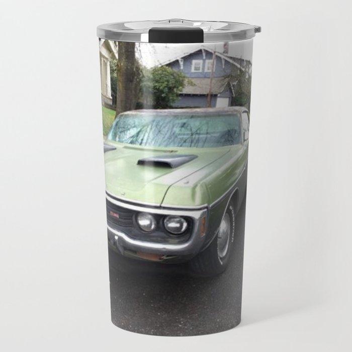 Rare 1971 Brazilian Model Only Polara GT Muscle car Travel Mug