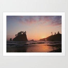 a remembered sunset Art Print