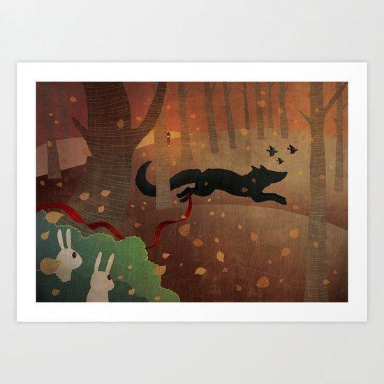 Escape Art Print