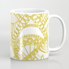 Golden Doodle mountains Mug