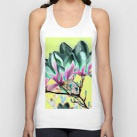 popart Tank Tops featuring MAGNOLIA - PopArt by CAPTAINSILVA