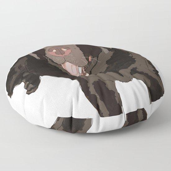Labrador dog (black) by gangsterrapandcoffee