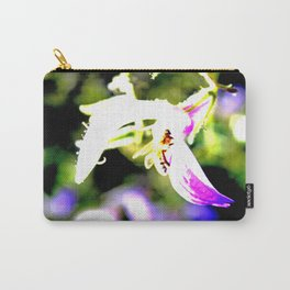 Bee in purple Carry-All Pouch