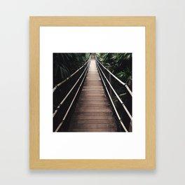 Build a Bridge & Get Over It Framed Art Print
