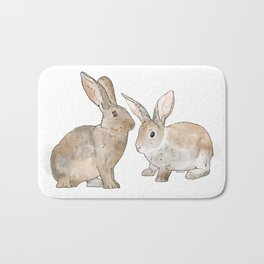Rabbit Rabbit Bath Mat