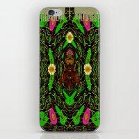 grafitti iPhone & iPod Skins featuring Lady Pandas Jungle grafitti by Pepita Selles