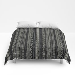 Mud Cloth Stripe Comforters