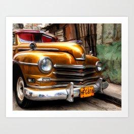 Havana 2 - Caribbean Serie Art Print