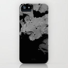Rosetta's comet descent iPhone Case