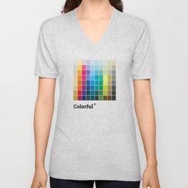Colorful Soul - All colors together Unisex V-Neck