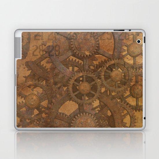Rusty Gears Laptop & iPad Skin