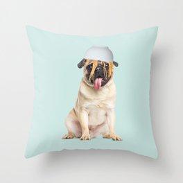 PUGHETTI Throw Pillow