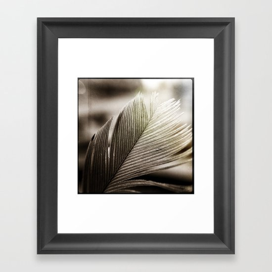 Feather Tip Framed Art Print