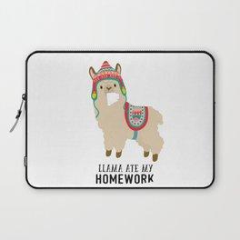 Llama ate my homework Laptop Sleeve