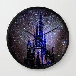 Fantasy Castle. Wall Clock