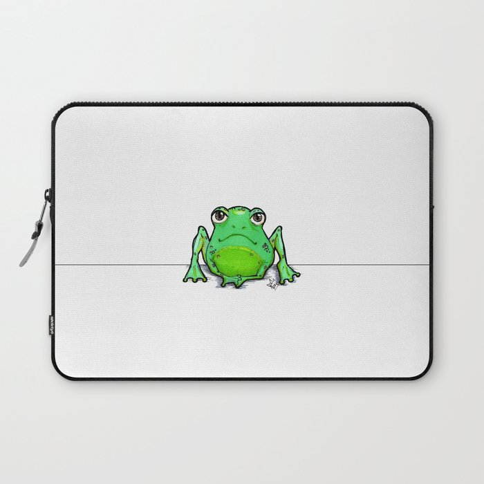 Cute Critters - Froggy Laptop Sleeve