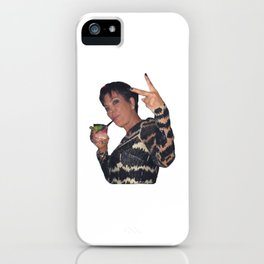 Peace Out Kris Jenners iPhone Case