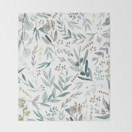 Eucalyptus pattern Decke