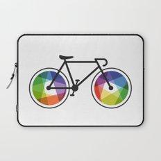 Geometric Bicycle Laptop Sleeve