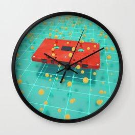 Cassette vibes Wall Clock