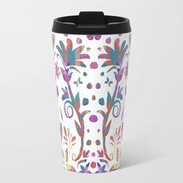 Fantasy Pink Flowers Travel Mug