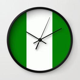 Flag of Nigeria Wall Clock