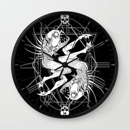 Zodiac: Pisces Wall Clock