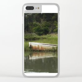 The lost boat Clear iPhone Case