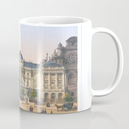Paris art print Paris Decor office decoration vintage decor PALAIS DE JUSTICE of Paris Coffee Mug