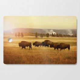 Bison at Yellowstone Cutting Board