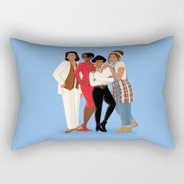Living Single / Khadijah, Max, Regine & Synclaire Rectangular Pillow