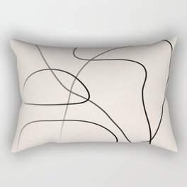 Abstract Line I Rectangular Pillow