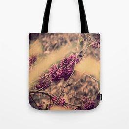 PURPLE BERRIES Tote Bag