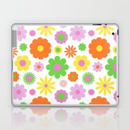 Vintage Daisy Crazy Floral Laptop & iPad Skin