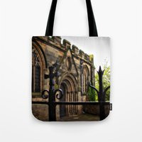 medieval Tote Bags featuring Medieval by Barbara Gordon Photography
