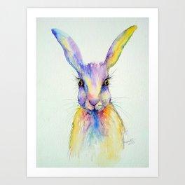Hare Art Print Art Print