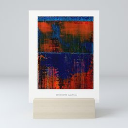 Simon Carter Painting Lake Woden Mini Art Print