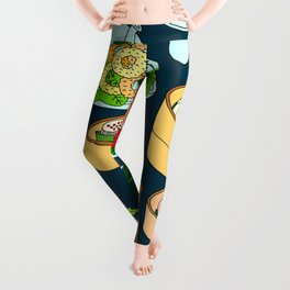 Dim Sum Lunch Leggings