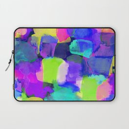 Brushstroke Blue Laptop Sleeve
