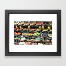 Market Baskets Framed Art Print