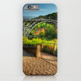 The Iron Bridge 1779 iPhone Case