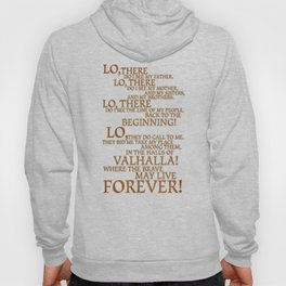 Viking Prayer Hoody