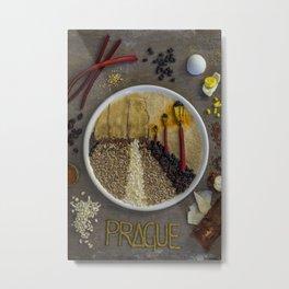 Prague. Metal Print