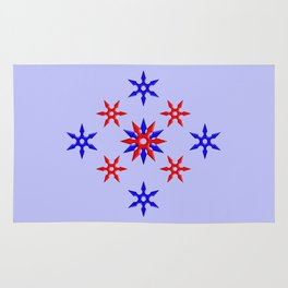 Shuriken Design version 3 Rug