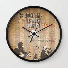 Samurai 1 Wall Clock