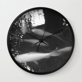 The pond alive Wall Clock