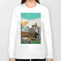 bali Long Sleeve T-shirts featuring Bali and elephant  by HURLUdesign